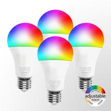 RGB <span class=keywords><strong>Lampu</strong></span> Bulb <span class=keywords><strong>LED</strong></span> Pengisian Pintar Wifi Smart Bohlam <span class=keywords><strong>LED</strong></span>