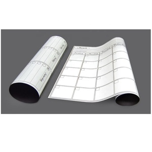 Low Price Monthly Weekly Calendar Flexible Magnetic Roll Up Whiteboard