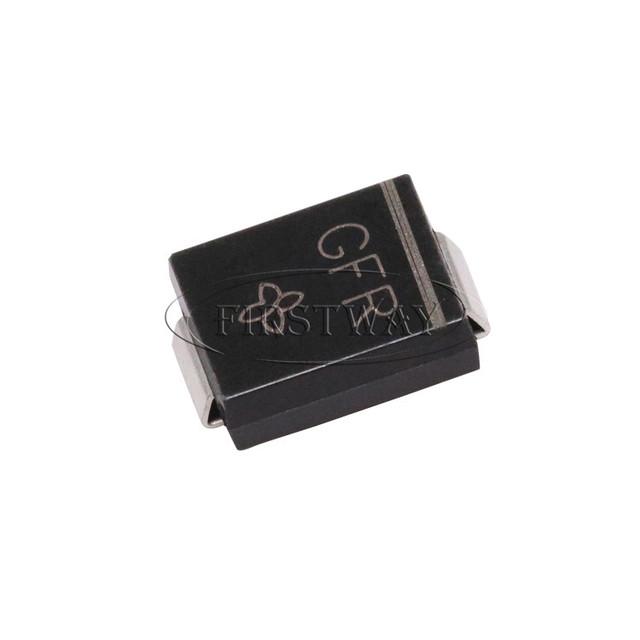 ESD Suppressors//TVS Diodes 40volts 5uA 46.4 Amps Bi-Dir SMLJ40CA Pack of 40