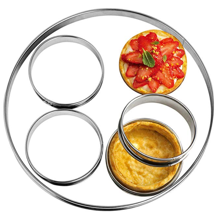 Muffin Rings Egg Pancake Rings English Stainless Steel Tart Rings