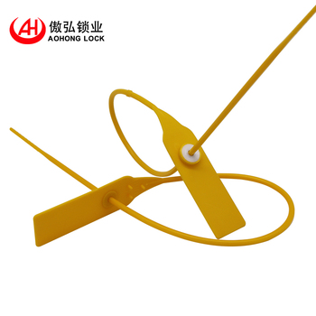 tamper proof plastic seal for fire-extinguishing device