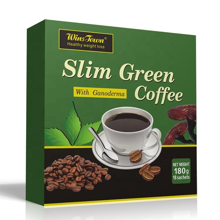 Private Label Gewichtsverlies Sliming Groene Koffie 100% Natuurlijke Vetverbranding Oploskoffie
