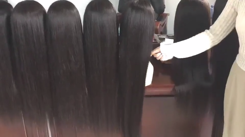 Wig Renda Depan Swiss Transparan Hd, Rambut Palsu Renda Frontal, 360 Brasil 100% Tanpa Lem Lurus, Wig Renda Penuh