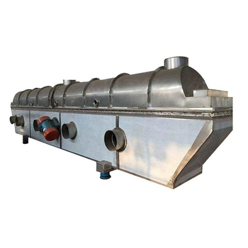 rectilinear vibrating breadcrumbs fluid bed dryer for foodstuff industry