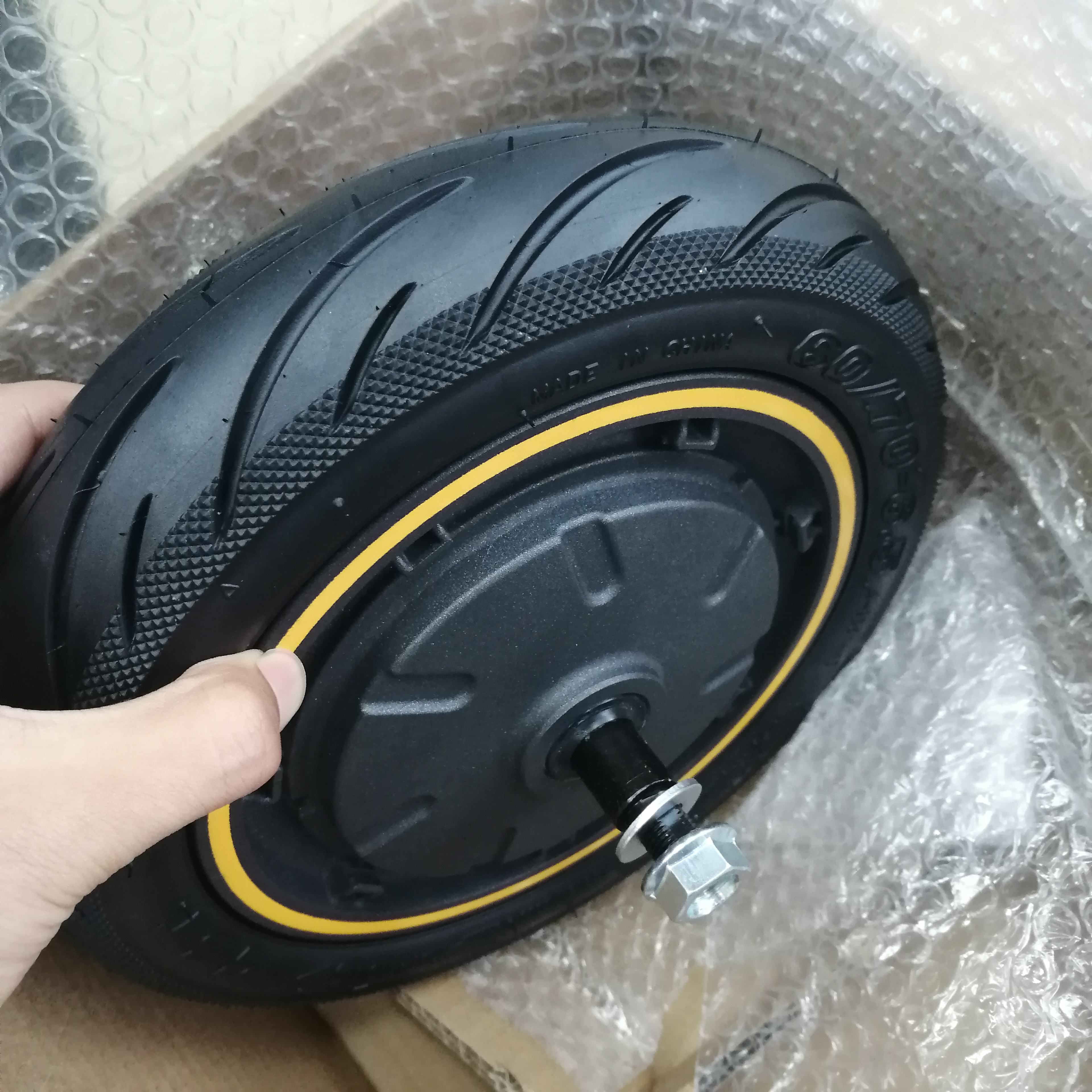 Serial Number 9 Powerful 350W Rear Wheel with Tubeless Tire Motor 10inch Wheel Hub Motor for Original G30P Max Electric Scooter