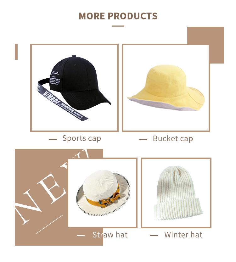 Venta al por mayor de alta calidad de invierno de las mujeres sombrero