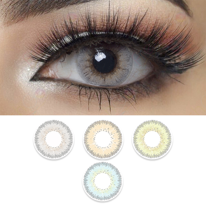New arrival natural colored contacts freshgo high quality green eye colored contact lenses wholesale