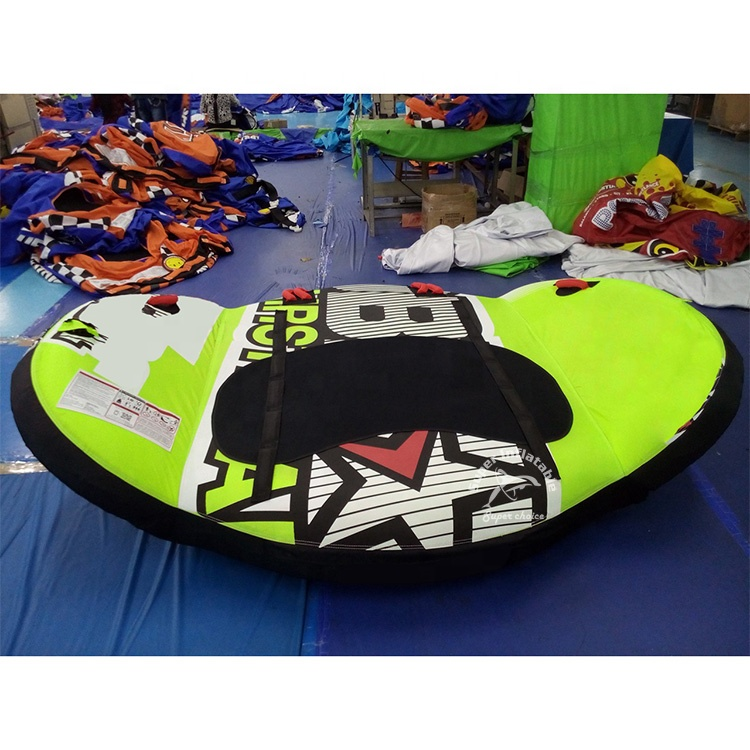 In Voorraad Watersport 3 Persoon Opblaasbare Water Ski Getrokken Buis Water Speelgoed