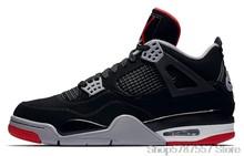 Мужская баскетбольная обувь Nike Air Jordan 4, оригинальные высокие кроссовки Jordan, Баскетбольная обувь для мужчин и женщин, Мужская CI1184-146()