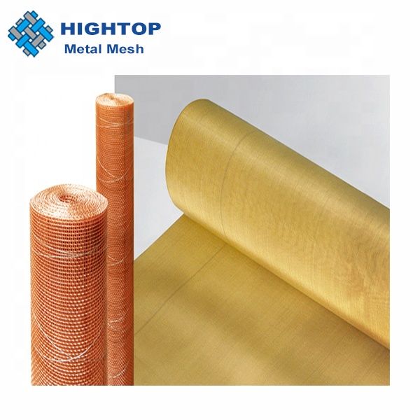 ultra Fine 100 Mesh Brass Woven Wire Mesh For Fuel Tap Filter