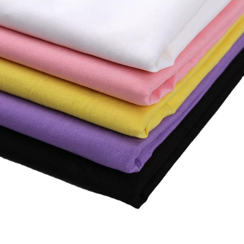 工場直接Wholesale 100% 綿ポケット加工生地固体染色生地ポケットFabric Textile 140 gsm平織