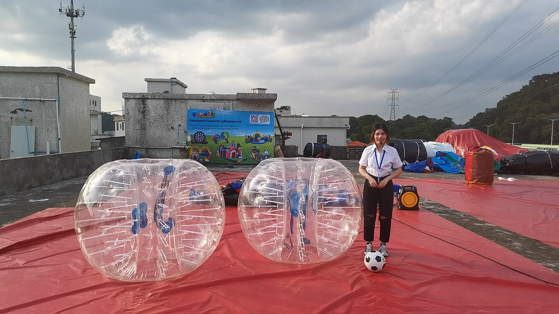 100% pure TPU human body bumper ball inflatable bumper ball bubble soccer
