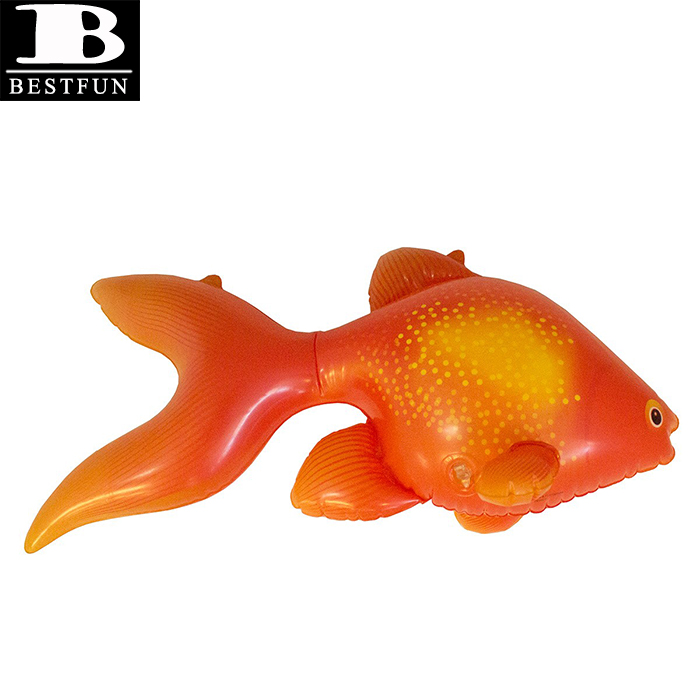 large Inflatable Goldfish pool or beach toy
