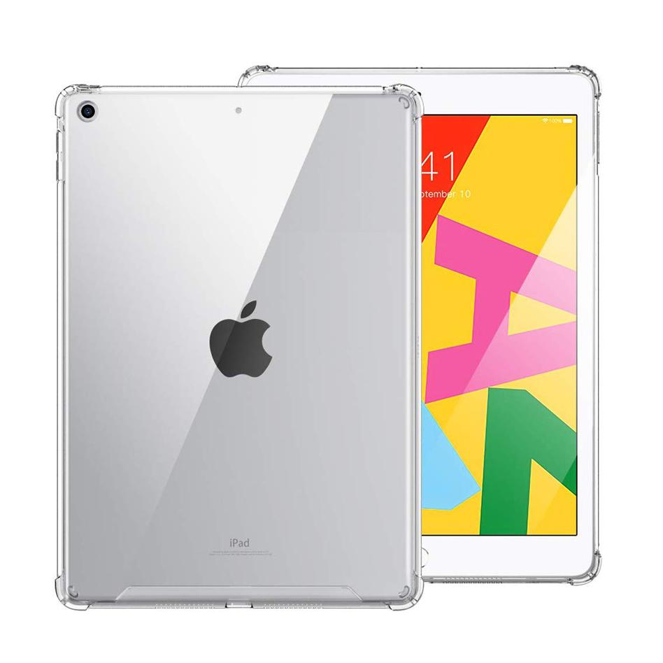 Für Ipad 10,2 Klar Fall, Stoßfest Klar Schutz Fall Abdeckung Für Apple Ipad 10,2 Zoll 7Gen 2019 Funda