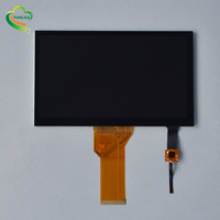 YUNLEA 800x480 1024x600dots RGB LVDS Interface 7 inch TFT LCD Touch Screen Displays Module with CTP