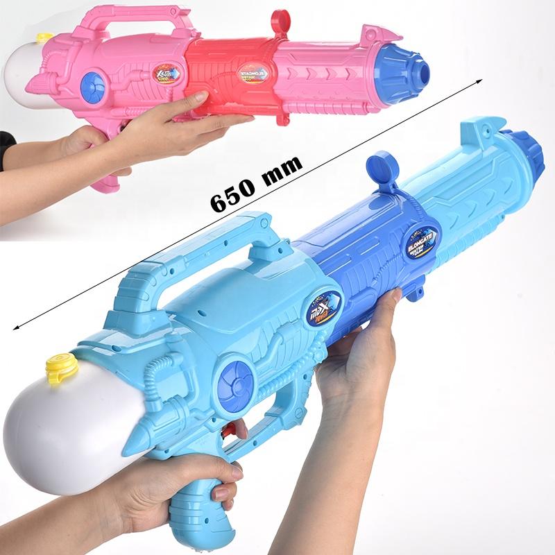 Musim Panas Anak Perempuan Anak Laki-laki Permainan Mainan 1050 Ml Besar Volume Tangki 3 In 1 Retractable Telescopic Ekspansi Biru Merah Muda Besar Air gun untuk Anak-anak
