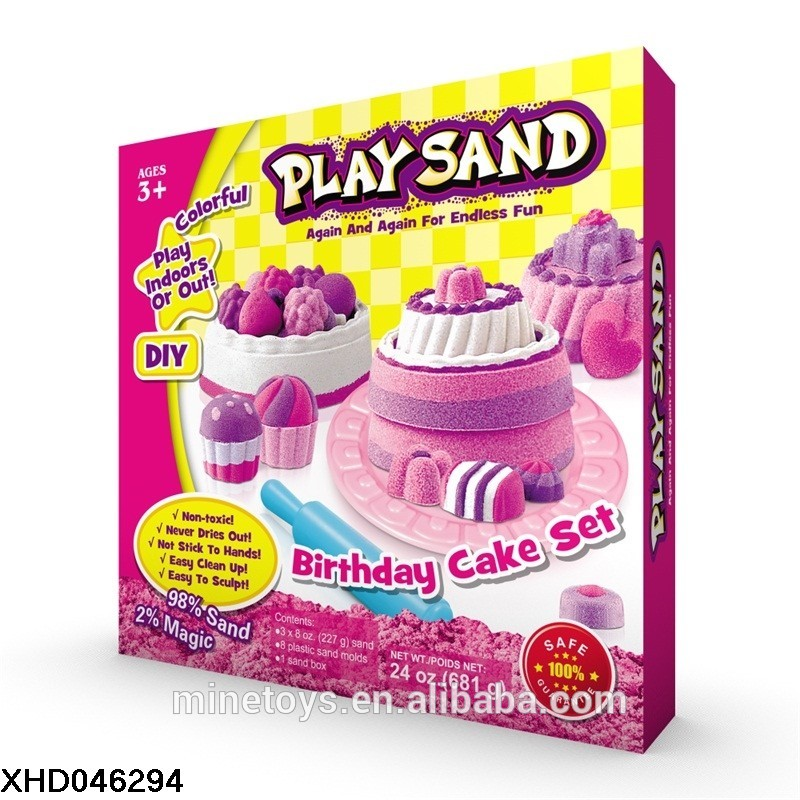 Educational Toys Sensory Toys Creative Art Play Sand for  Boys and Girls  Age  3+ 10year Old Magic Sand Toy