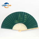Bamboo Gift Decorative Folding Hand Held Fan DIY