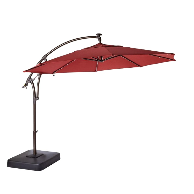 Waterproof fabric vintage beach garden parasols umbrellas