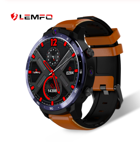 LEM12 2020 New Smart Watch Android Face ID <strong>Dual</strong> Camera 1.6 Inch 3GB 32GB 1800 mah Battery <strong>LTE</strong> 4G Men Smartwatch