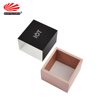 Private Label Square Shape Recycled Cardboard Custom Logo Luxury Birthday Home Gift Candle Black Sleeve Box Packaging
