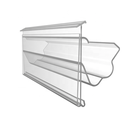 Supermarket Clear PVC plastic profile label holder for price card