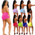 2020  Women Summer Beach Sparkly Sequin Two Piece Outfits Sexy Mesh See Through Bra Top Bikini + Shorts Sets Rhinestone Swimwear