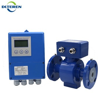 China Product Price Remote Electromagnetic Flow Meter Fast Response Time For Effluent
