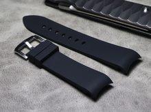 18 20 22 мм мягкий силиконовый Универсальный сменный ремешок для часов, двойной цвет, известный бренд, аксессуары для часов Omega, часы iwc(Китай)