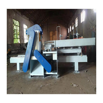 Round table sliding table saw Large diameter round wood sawing machine Round wood natural opening device Saw surface smooth