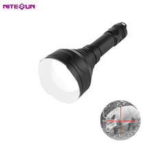 Nitesun HT12 900m zoomable Bianco 10w <span class=keywords><strong>ricaricabile</strong></span> ha condotto la testa palmare caccia <span class=keywords><strong>luce</strong></span>