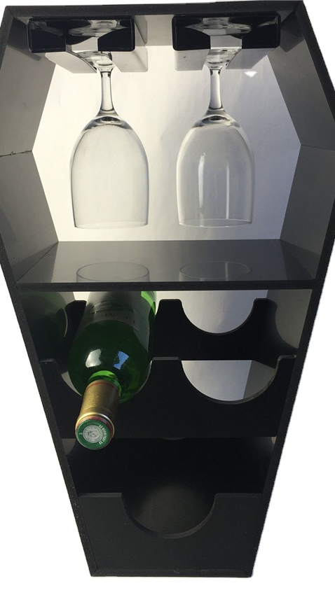 counter table 3 bottle wine tequila patron vodka rum whiskey liquor beer water bottle pvc plastic display stand