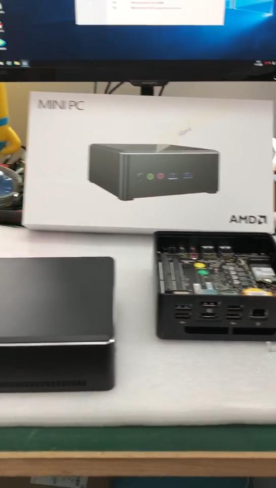 Mini PC MPC-R753 avec Radeon Vega10/8/6/3 R7 3700U/R5 3500U/R3 3200U