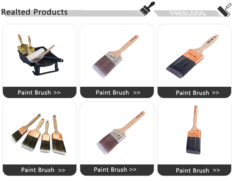 Zhenjiang factory wholesale long handle horse hair paint brushes