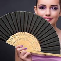 [I AM YOUR FANS]CHINESE STYLE BAMBOO HAND FAN WEDDING FAVOR OVER 20COLORS