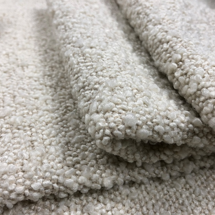 Geri dönüşüm iplikleri sherpa polar stok oturma odası polyester döşemelik toptan şönil kumaş kanepe