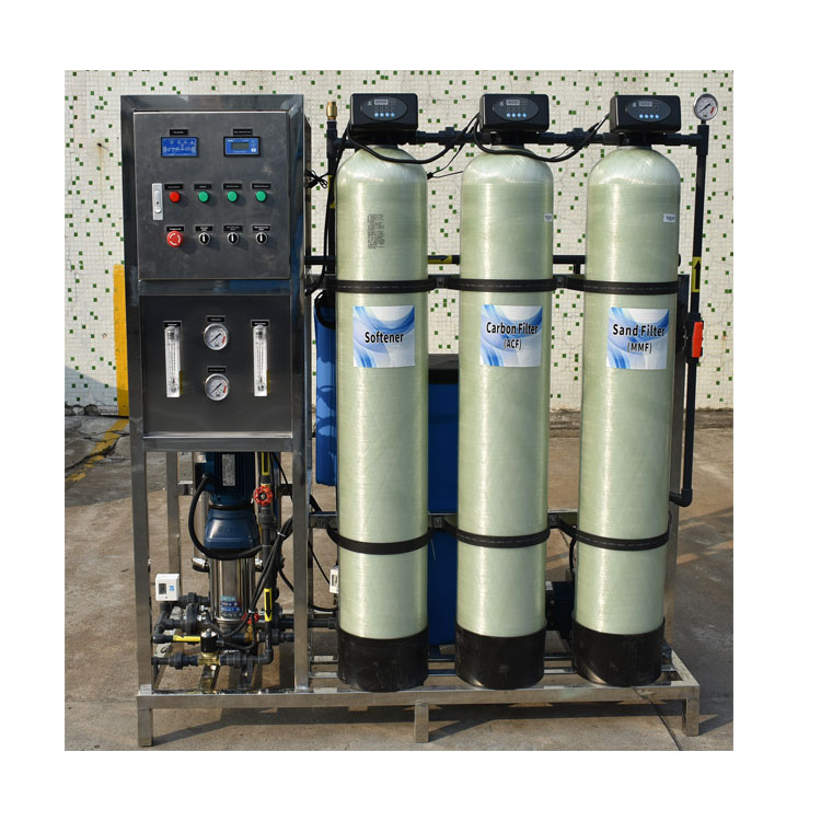 product-Ocpuritech-Small Industrial Automatic 500lph ro system for drinking water Reverse Osmosis Mi