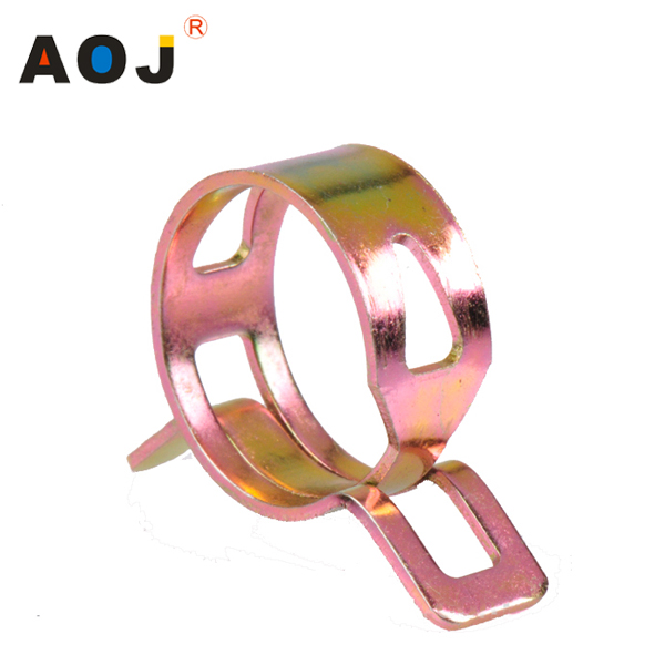 Japanese style elastic spring clamp