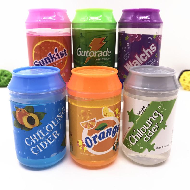 2020 Giáo Dục Đồ Chơi Slime Sản Phẩm Trẻ Em Barrel O Đầy Màu Sắc Thơm Pha Lê Quyến Rũ Cola Có Thể Putty Slime