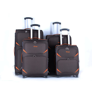 Kongzhongniao cheap 600D two-wwheels four pcs luggage set