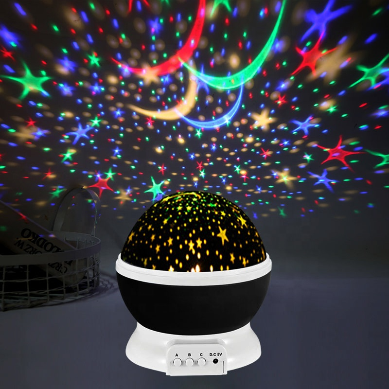 Led fantasy dazzle <strong>color</strong> rotating star <strong>light</strong> creative romantic creative birthday gift projection <strong>light</strong> for christmas decoration