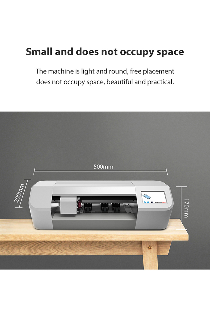 Bluetooth control cutting machine cutter for mobile phone nano tpu screen protector film