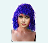 Cosplay TINSEL WIG