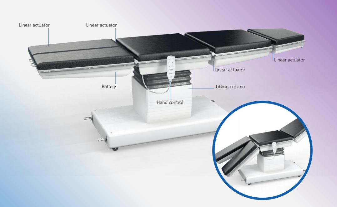 50W hebe spalte für Hebe Tisch Stehen Rahmen HT-A2 für werkbank hub 200mm