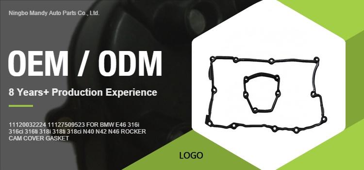 11127509523 Brand New Rocker Cover Gasket For BMW E81 E82 E87 E88 118i 120i