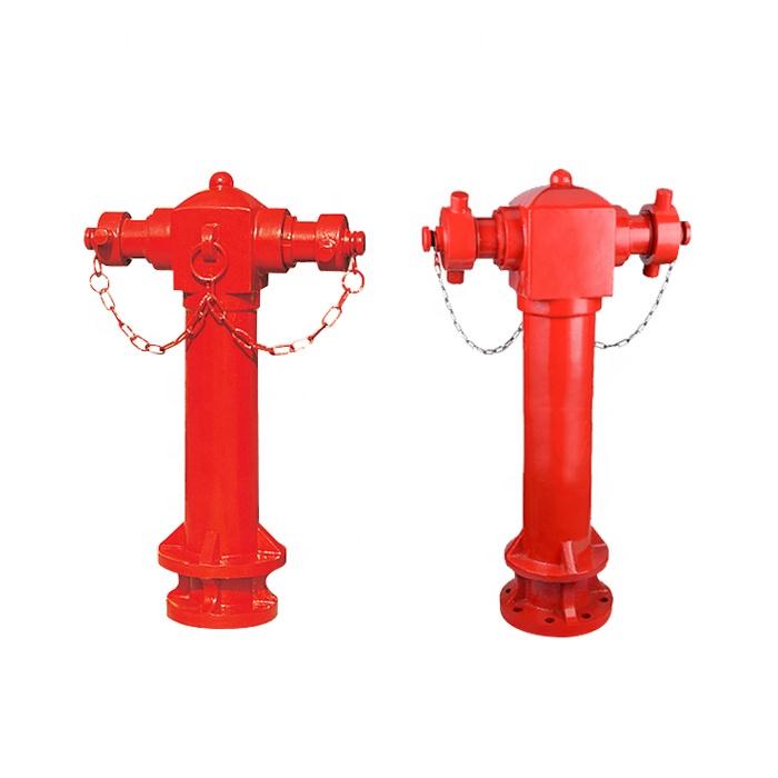 Pillar Fire Hydrant, 2 Ways Fire Hydrant, Wet Type Fire Hydrant