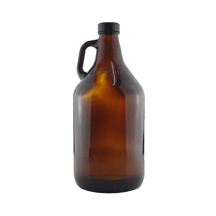 Bir Amber Kaca Botol Bir De Vidrio Cerveza Tong 32 Oz 64 Oz 128 Oz