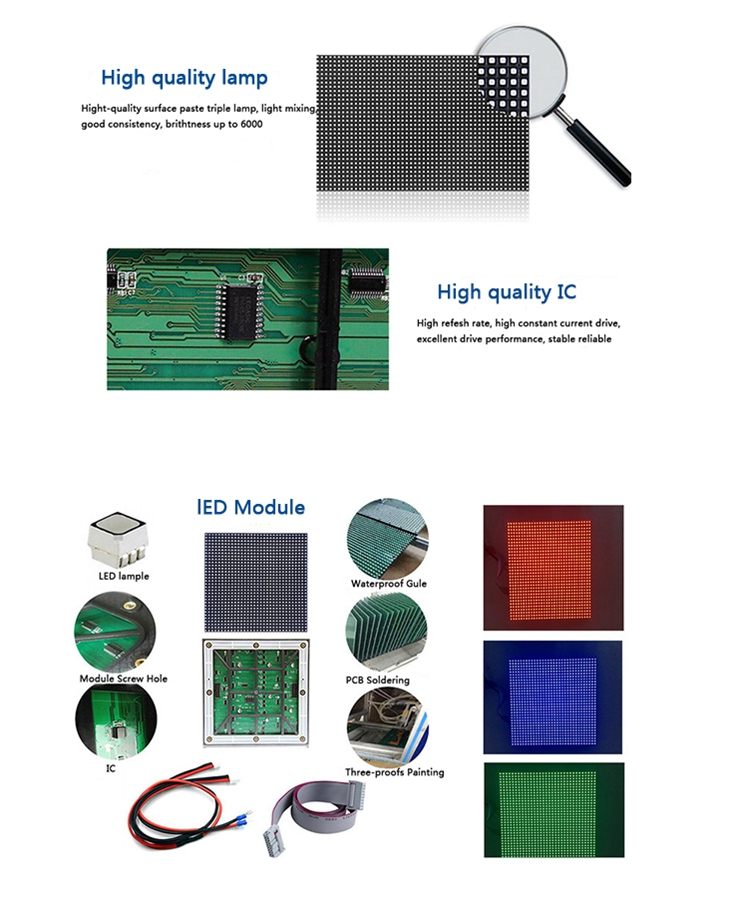 2.5Mm Pixel Pitch Indoor HD LED Display Layar
