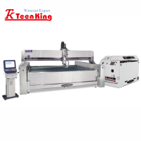 metal water jet cutting machinery with imported pump