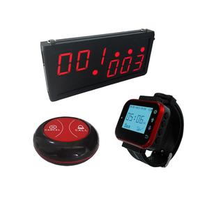 Smart Wireless Calling Bell Sytsems Restaurant waiter call button system